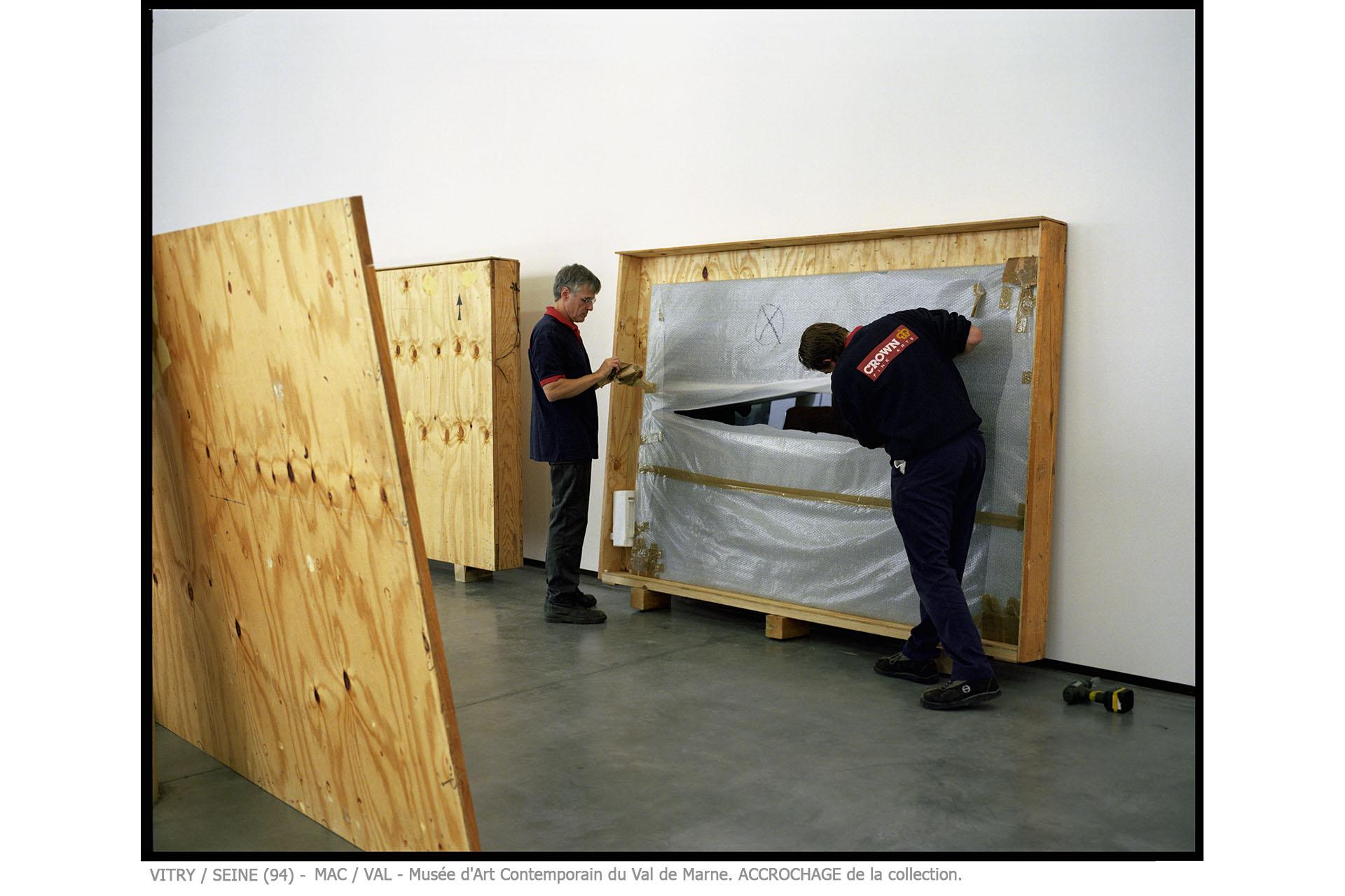 ouverture du mac val / vitry sur seine (94)