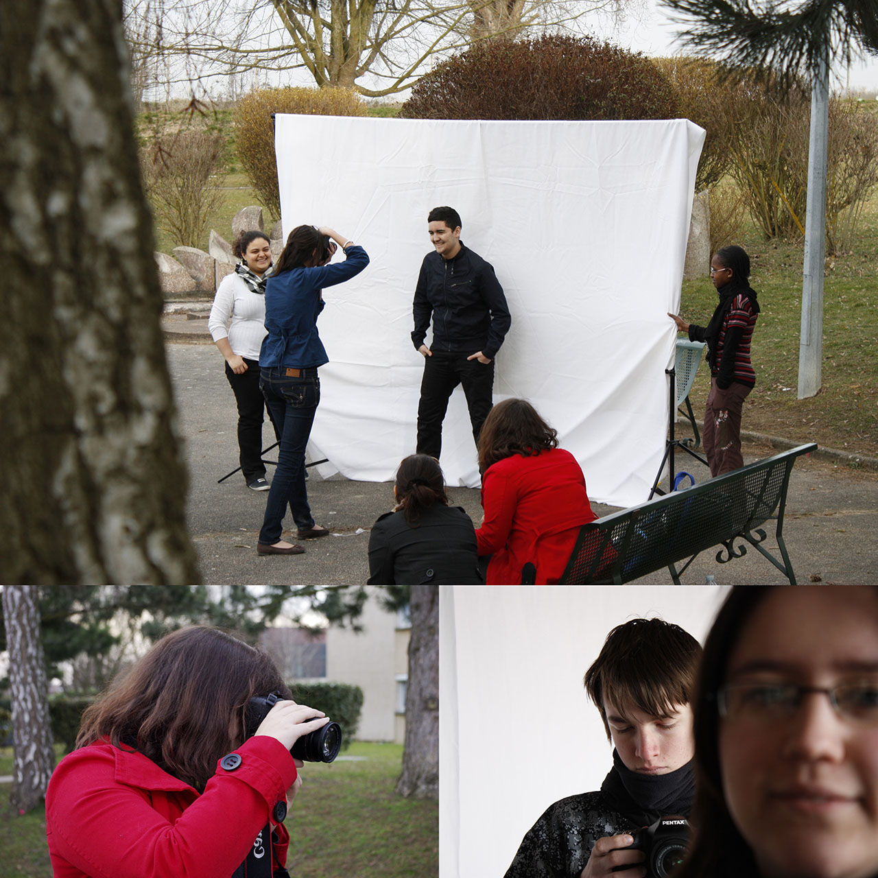 """making off"""