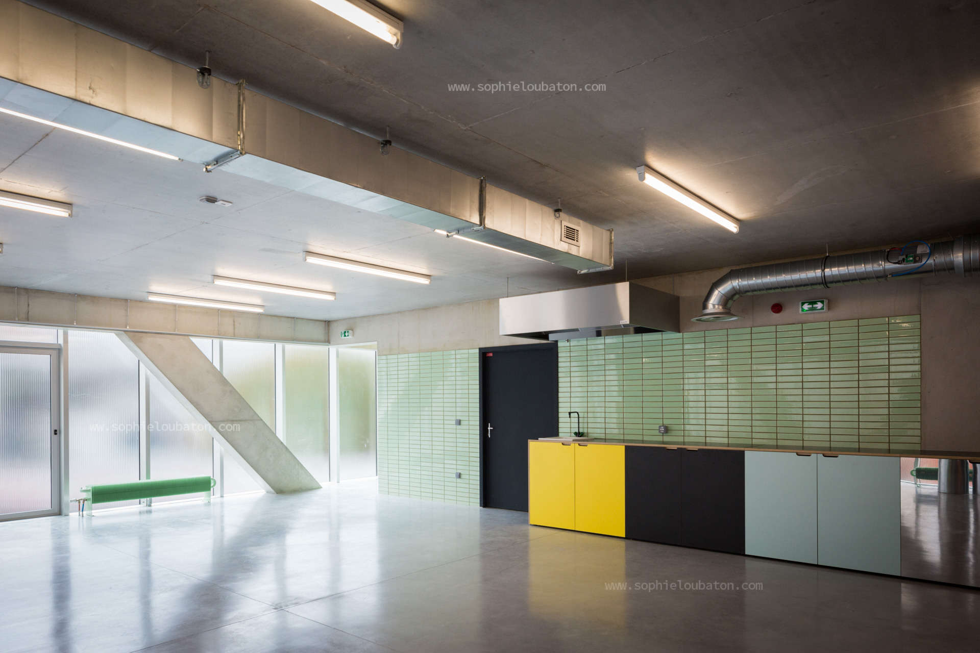 centre d'animation Wangari Maathai - quartier St-Blaise, Paris 20e. chantier ETI.