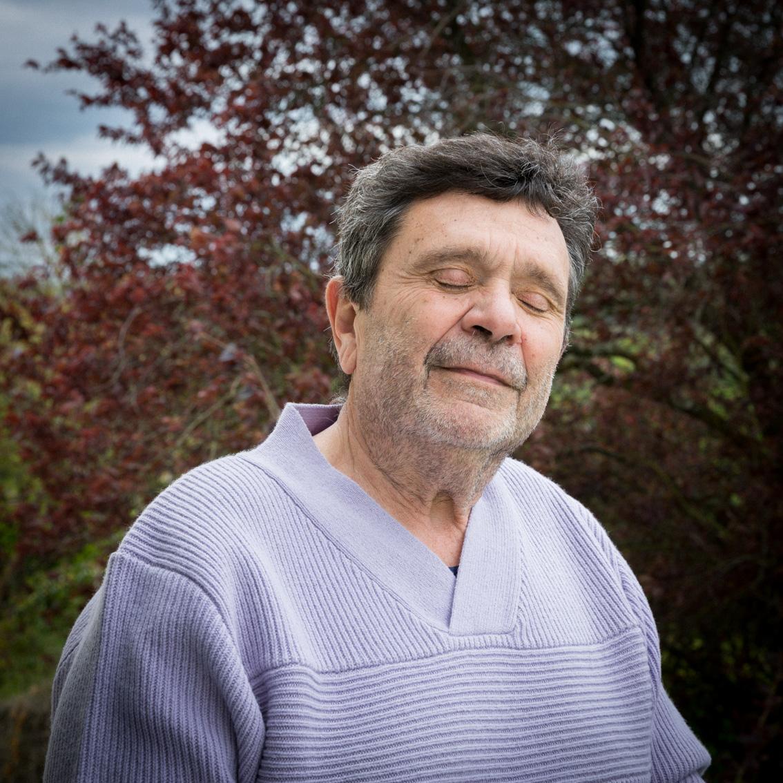 portrait de Alain Dulery pour Le Pelerin.