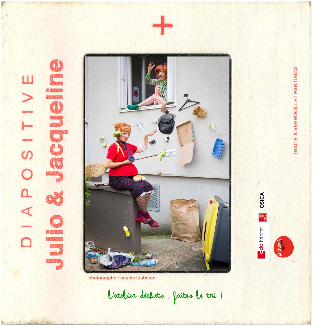 OSICA _ Compagnie La Bande Magnetique / visuels Astuce Appart. 04_atelier dechets