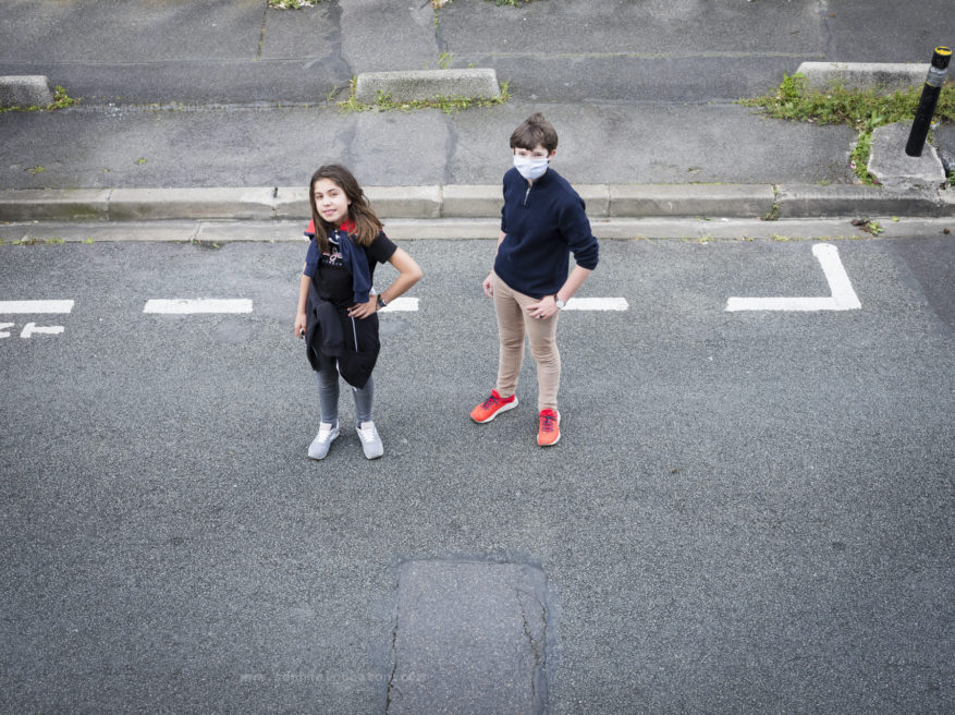 # distanciation sociale garantie / J10 _ ven 1er mai 2020